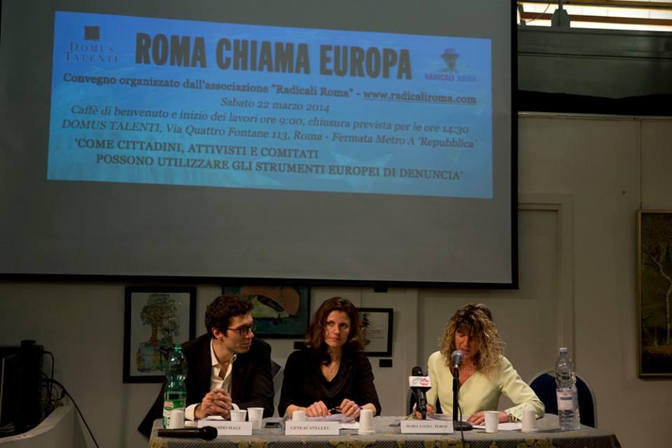 Scatti dal convegno Roma Chiama Europa