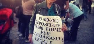 Eutanasia Legale: Oggi walk-around intorno al Parlamento con Mina Welby e Associazione Coscioni per calendarizzazione legge iniziativa popolare
