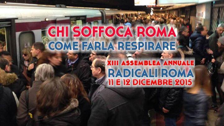 EVENTO:  Chi soffoca Roma, come farla respirare