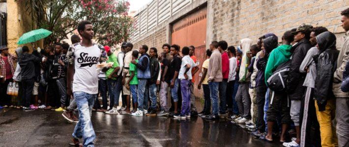 """Migranti, Radicali a Tiburtina: """"E' qui la bancarotta dell'umanità, chiederemo incontro al prefetto"""""""