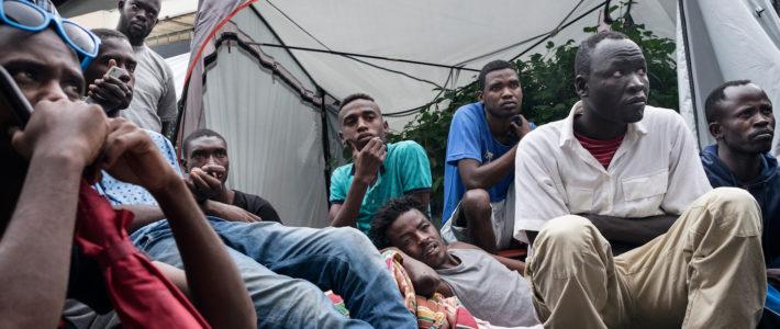 Rete legale per i migranti in transito: report 2017