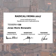 XX Settembre: Nostre tessere a Papa Francesco, seguano fatti