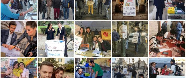 Migranti: Oltre 14mila firme raccolte a Roma per Ero Straniero
