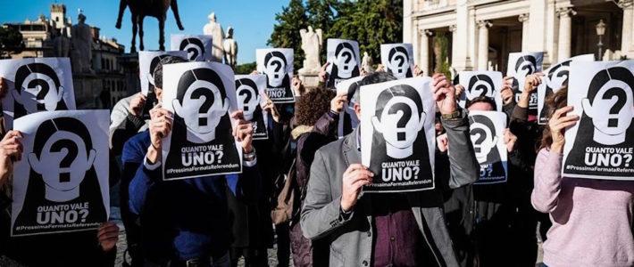 Atac: Presidio permanente in Campidoglio fino a indizione referendum