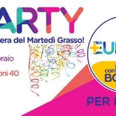 +Party! Martedì grasso la festa in maschera di +Europa per il Lazio