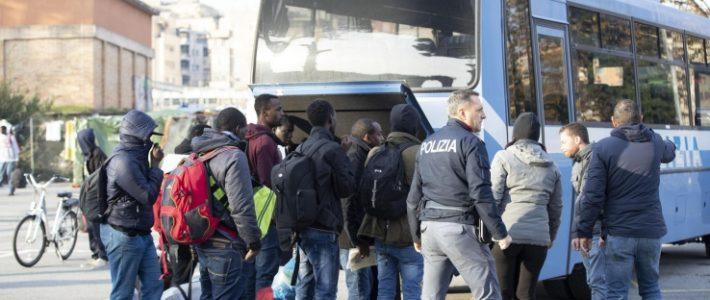 Sgomberi, lettera a istituzioni della Rete legale per i migranti in transito