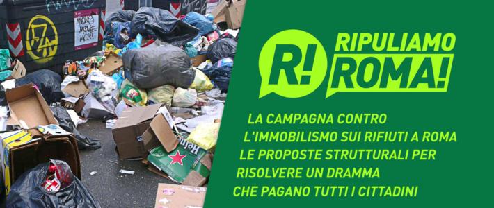 Ripuliamo Roma – Cause e soluzioni di un dramma Capitale