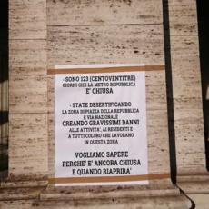 Fermata metro Repubblica chiusa da 4 mesi: Comune prigioniero di ATAC