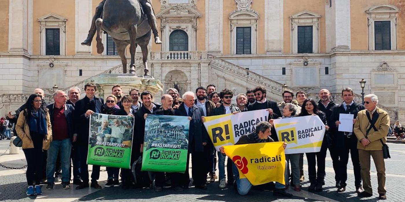 Depositata la delibera Ripuliamo Roma