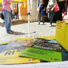 I tavoli per firmare Ripuliamo Roma (weekend 14-16 giugno)