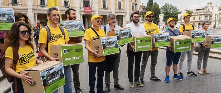 Ripuliamo Roma: depositate in Campidoglio più di 7000 firme