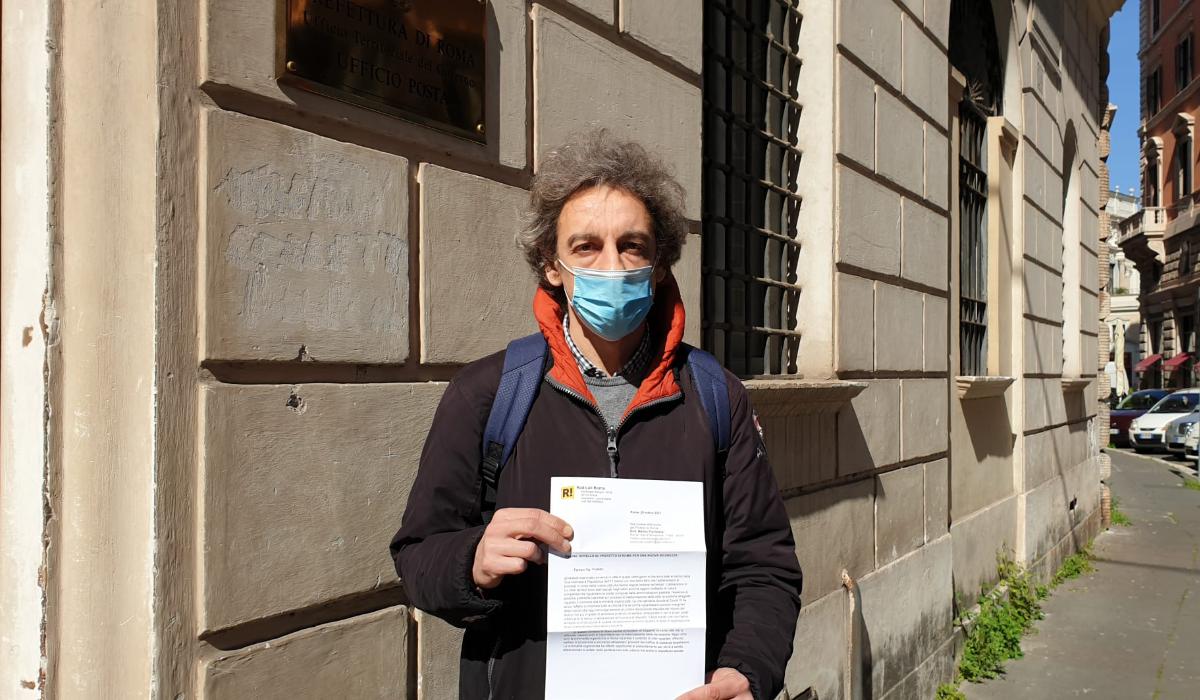 Abbiamo consegnato al Prefetto di Roma appello per una nuova sicurezza