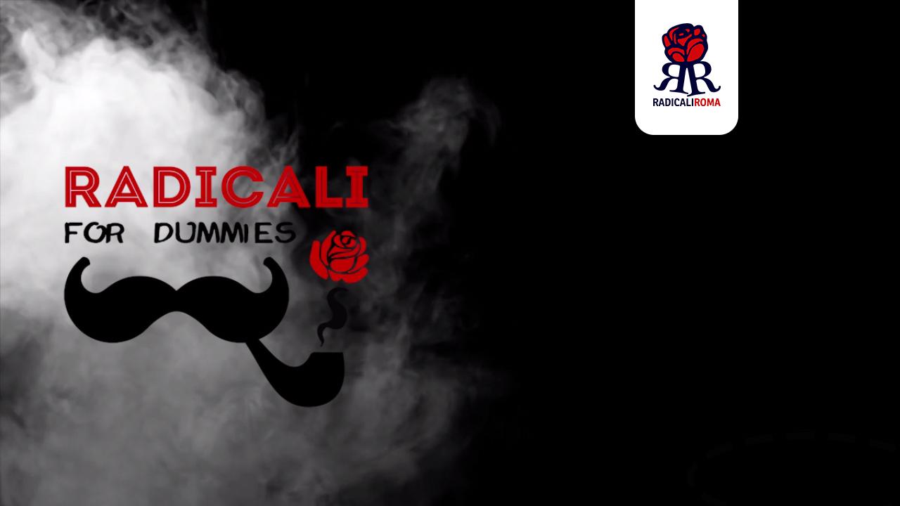 Radicali for dummies – L'aperitivo Radicale ogni 1° e 3° giovedì del mese