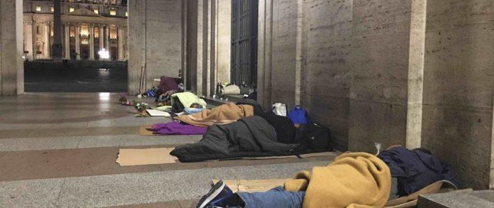 Coronavirus: a Roma serve assistenza a migliaia di persone senza casa