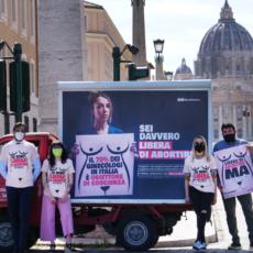 Libera di abortire è un'azione popolare
