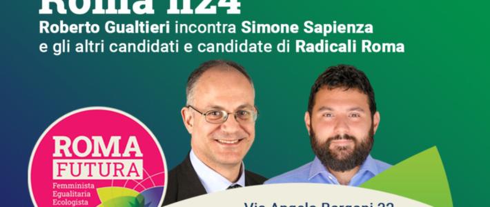 14/09: appuntamento con Gualtieri per confronto su temi radicali